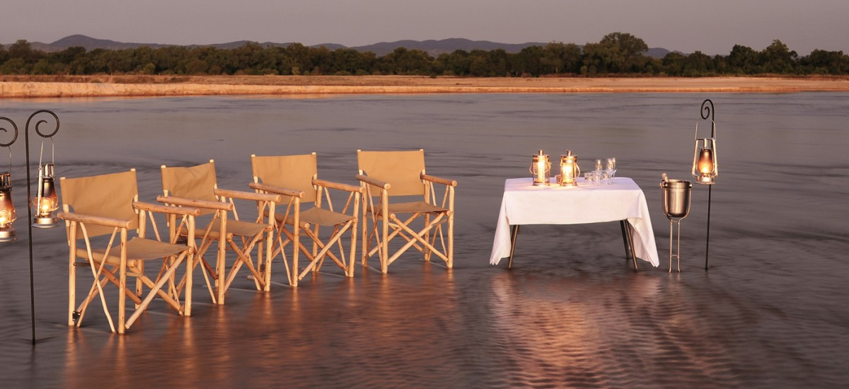 South Luangwa - Picnic mit Stil