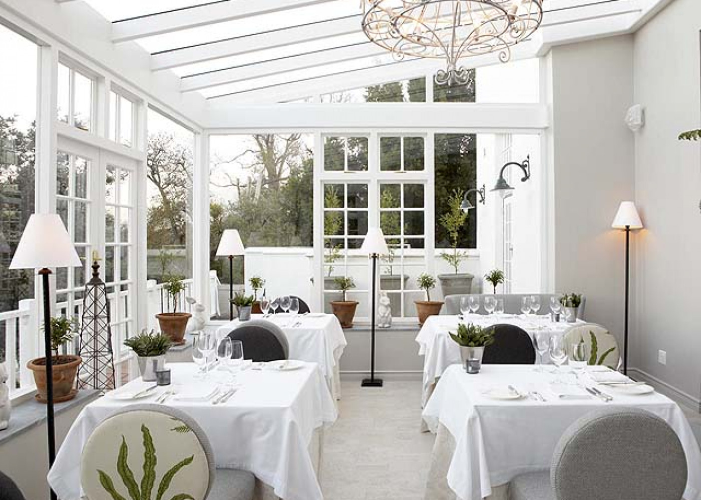 The Cellars-Hohenort - Greenhouse Restaurant