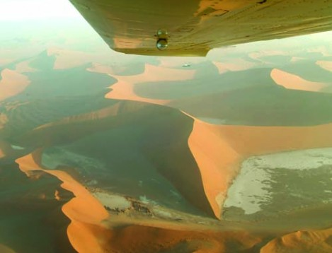 NA-NatureFriend Safaris - NatureWings - Sossusvlei from above