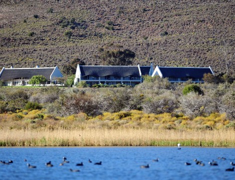 SA-GardenRoute-Sanbona-Gondwana family lodge-ext view from Bell air dam